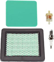 Savior GC160 Air Filter 17211-ZL8-023 Fuel Filter Spark Plug for Honda GCV160 Air Filter GX100 GC135 GCV135 GC190 GCV190 Tillers HRB216 HRS216 HRC216 HRR216 HRT216 HRZ216 HRB217 Lawn Mower