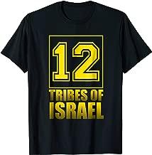 12 Tribes Of Israel Hebrew Israelite Tribe of Judah Shirt