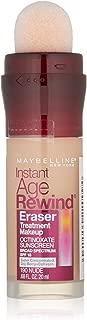 Maybelline New York Instant Age Rewind Eraser Treatment Makeup, Nude, 0.68 fl. oz.