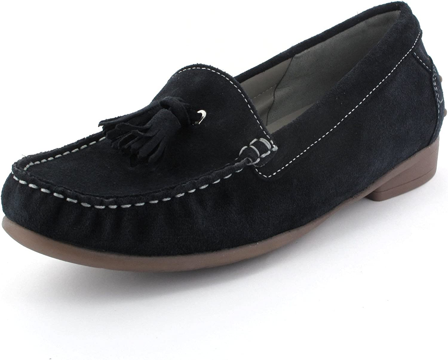 ARA Damen Slipper 30763-05 12-30763-05 blau 107826