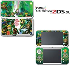 Legend of Zelda 25th Anniversary Link Special Video Game Vinyl Decal Skin Sticker Cover for Nintendo New 2DS XL System Console