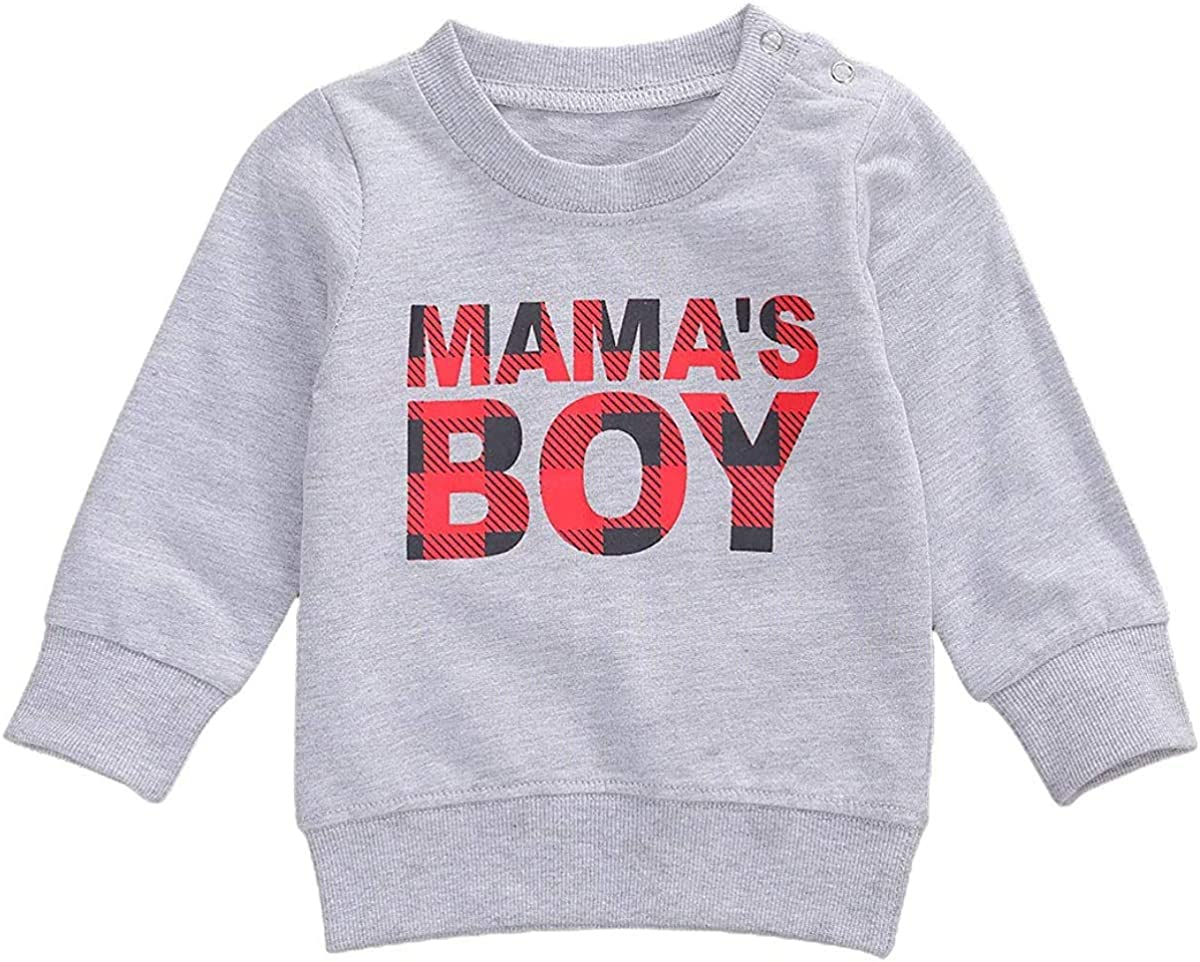 Toddler Baby Boy Girl Fall Winter Clothes Cute Sweater Long Sleeve Shirts Pullover Swearshirts Tops Outfit