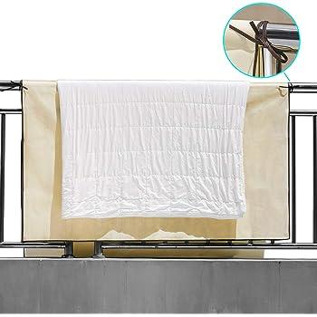 布団干しシート ふとん干しシート 汚れ防止 収納袋付き│外壁の汚れ、手すりの汚れから布団を守ります (1個入)