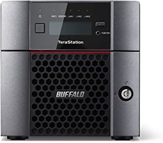 Buffalo TS5210DN0802-EU 8 TB (2 x 4 TB NAS Hard Drives Included) TeraStation 5210DN 2 Bay Desktop NAS