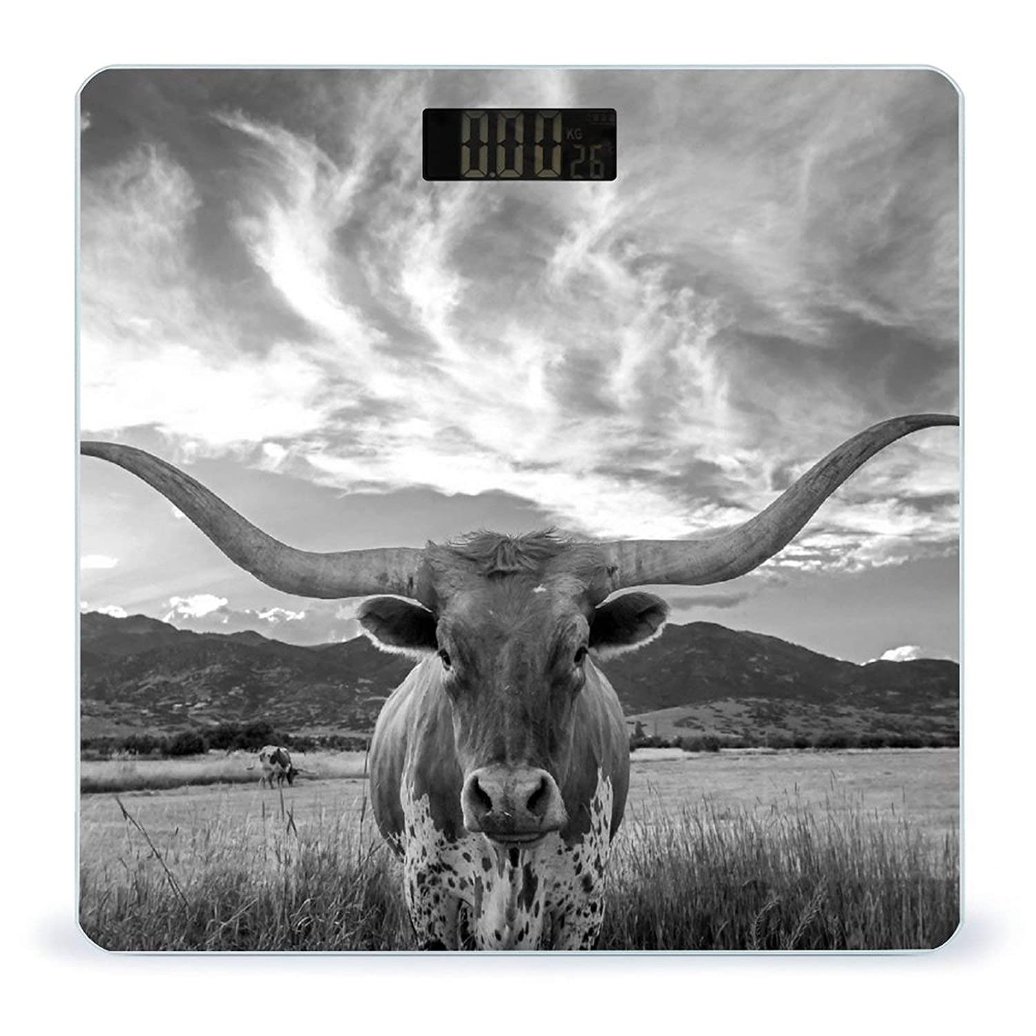 Animal Attention brand Texas LonghornWeight Scale Large special price D Battery-Powered Body Digital
