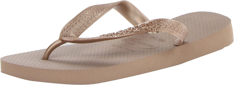 Havaianas Women's Flip Flop Sandals, Top Metallic