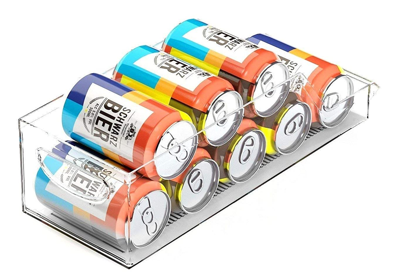 Fridge Soda Can Dispenser Pantry, Organizer Rack