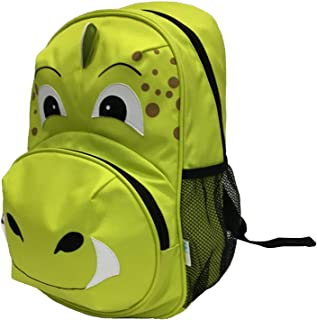 BibiKids Dinasaur Dino Backpack, Green