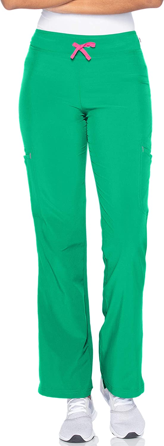 Smitten Women's Contemporary NEW before selling ☆ Slim-fit Outstanding Elastic-Waist Scr 2-Pocket