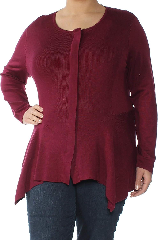 Alfani Womens Handkerchief Sweater Cardigan Fresno shopping Mall Hem