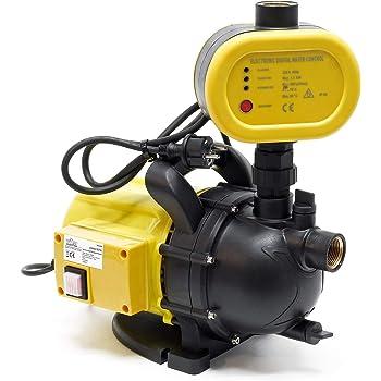 Bomba de jardín para obras hidráulicas domésticas interruptor de bomba de agua portátil 1200W 3500l/h: Amazon.es: Bricolaje y herramientas