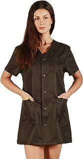 Ladybird Line Women's Pro Salon Jacket Stylish Coat Bleach Resistant and Water Repellent Black - Size 2X-Large