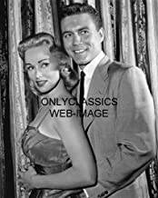 OnlyClassics 1959 77 Sunset Strip Television Photo Cool Roger Smith Holding Sexy Karen Steele