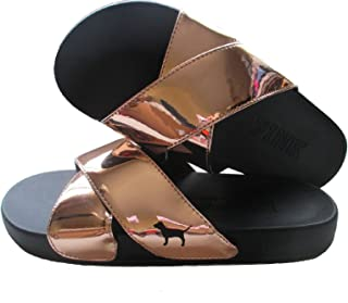 victoria secret gold slides