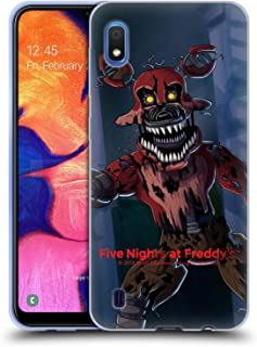 Official Five Nights at Freddy's Phantom Foxy Game 3 Soft Gel Case Compatible for Samsung Galaxy A10 (2019)