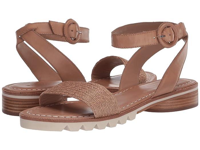 Bernardo  Alexis Sandal (Sand Raffia) Womens Sandals