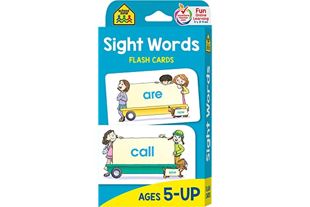 Best reading flash cards for kindergarten | Amazon.com