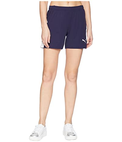 PUMA Liga Shorts (Peacoat/Puma White) Women
