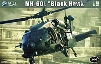 KH50005 1:35 MH-60L Black Hawk Helicopter Model for Model Hobbyist