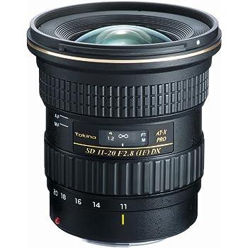 Tokina ATXAF120DXC 11-20mm f/2.8 Pro DX Lens for Canon EF,Black