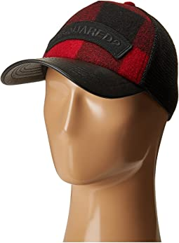 DSQUARED2 - Buffalo Check Cap