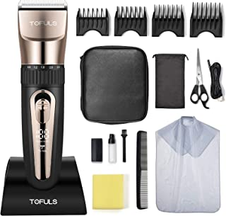 Hair Clippers - Professional Hair Clippers for Men, Mens Hair clippers for Hair Cutting, Electric...