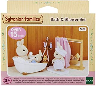 Sylvanian 5022 Families Bath and Shower Set,Furniture