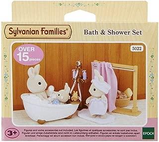 Sylvanian Families- Bath & Shower Set Mini muñecas y Accesorios, Multicolor (Epoch para Imaginar 5022 )