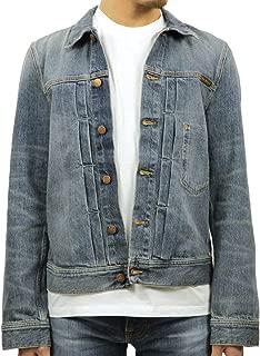 [ヌーディージーンズ] Nudie Jeans 正規販売店 メンズ アウター デニムジャケット SONNY DENIM JACKET MID STONE 160594 (コード:4133976206)