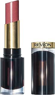 Revlon Super Lustrous Glass Shine Lipstick, Moisturizing Lipstick with Aloe and Rose Quartz in Pink, 003 Glossed up Rose, 0.15 oz