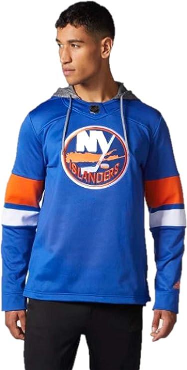 Amazon.com: adidas Men's Hockey Islanders Jersey Replica Pullover ...