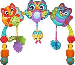 Playgro Arco de Juego Musical Animales del Bosque para Viajes, Desde el nacimiento, Multicolor, 40205