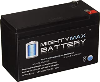 ML9-12 – 12 V 9 Ah Rechargeable SLA Battery – Mighty Max Battery Brand Product