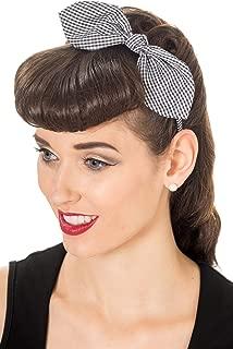 50s hair bow