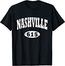 Vintage Nashville Shirt. Area Code 615 T-Shirt Tee
