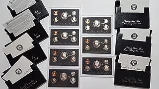 1992 1993 1994 1995 1996 1997 1998 Complete Set US Mint Silver Proof Sets DCAM Proof