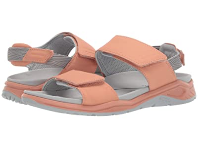 ECCO Sport X-Trinsic Leather Sandal (Muted Clay Cow Leather) Women