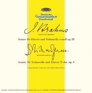 Brahms: Sonata For Cello And Piano No.1 In E Minor, Op.38 / Grieg: Sonata For Cello And Piano In A Minor, Op.36 / Strauss, R.: Sonata For Cello And Piano In F Major, Op.6