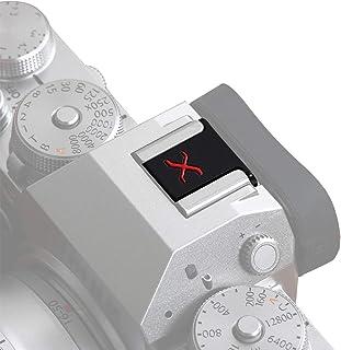 VKO Osłona na gorące buty kamery ochronna czapka kompatybilna z Fujifilm X-S10 XH1 XPro3 XPro2 XT4 XT3 XT2 XT30 XT20 XE3 X...