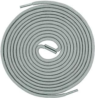 light grey round shoe laces