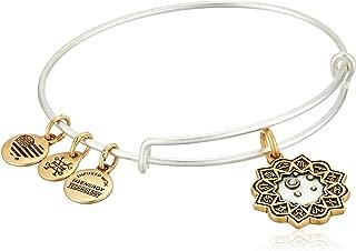 Women's Libra Two Tone Bangle Bracelet