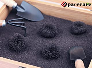 SPACECARE Magnetic Zen Sand Garden Box Set Toy for Magnetic Science,Stress Relief,Creativity, Children Education