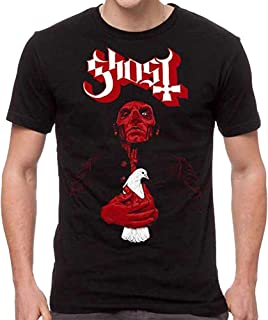 Ghost Men's Dove Red T-Shirt Black