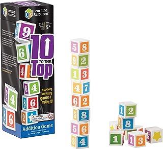ラーニング リソーシズ (Learning Resources) 計算ゲーム 足し算 10を作って積み上げよう LER1767 正規品