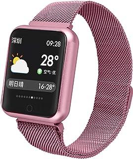 Smartwatch Fitness pulsera Deporte para Mujer Hombre con frecuencia cardíaca Schlaftracker podómetro IP68 resistente al agua Android y iOS