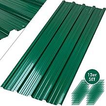 rot Onduline Easyline Dachplatte Wandplatte Trapezblech Wellplatte 3x0,76m/²