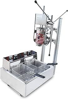 3L Churro Machine Fried Bread Dough Stick Maker includes 12L Electric Fryer (220V AU/EU/UK plug)