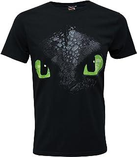 T Shirt maglietta maniche corte Dragons Trainer Hiccup Sdentato Bambino grigia