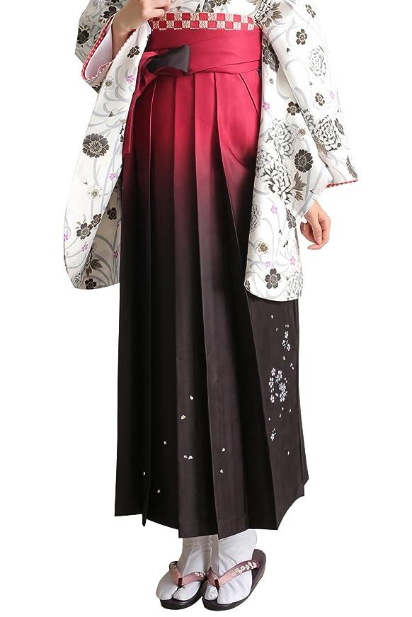 通信する睡眠エンジニア[キョウエツ] 袴 ぼかし 刺繍 薔薇 ブーケ 桜花冠 レディース