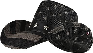 Armycrew American Flag Freedom Stars Western Cowgirl Cowboy Hat
